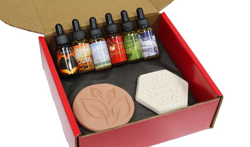 StoveScents six pack with both scentstones.